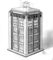 TARDIS by THE-SONIC-COOKIE