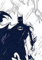 Batman by pastorgavin
