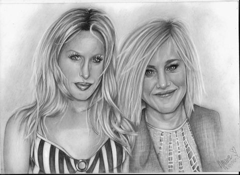 Alexis And Patty by ally6sixx