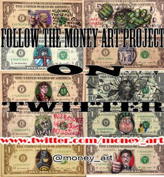 Money Art on Twitter by DonovanClark