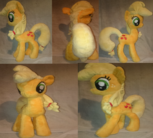 Applejack Plushie FOR SALE!!! by Tazimo