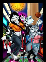 Girl's Night Out: Arcade DDR by Ebonyleopard
