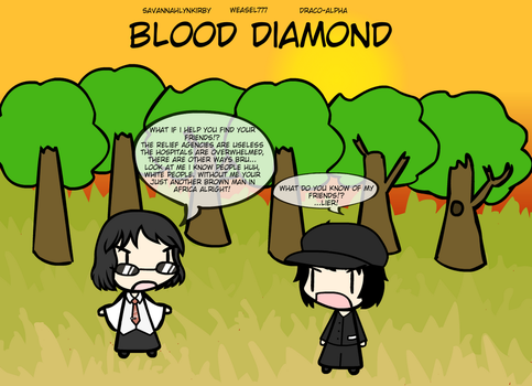 Blood Diamonds... by weasel777