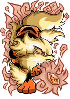 Arcanine Design by Patrick-Theater