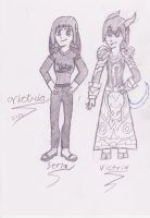 My current OCs 8/21/12 by VictriaOfArgus