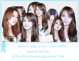 MINAH-Girl's Day pack png*8 by Crystallanxi