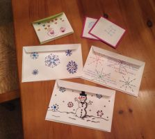 Holiday Card Project 2014 by Silvur2000