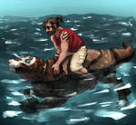 wOh shiny water by Diss0ciate