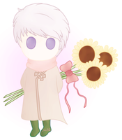 [APH] Sunflowers for you! by Jaha-Fubu