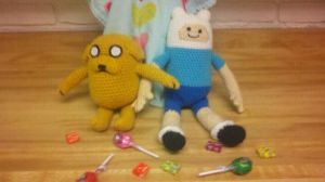 Finn and Jake by Spritzykins