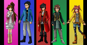Shadow Strikers Gokaigers by Zephyros-Phoenix