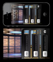 Star Trek iPhone Wallpaper Series: Transporter by MisterXon
