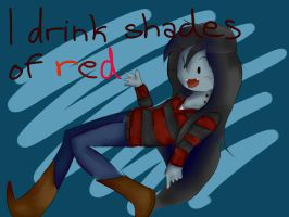 AT - I drink shades of red by Oscarina1234