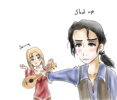 miguel and tulio? by aikoshadow