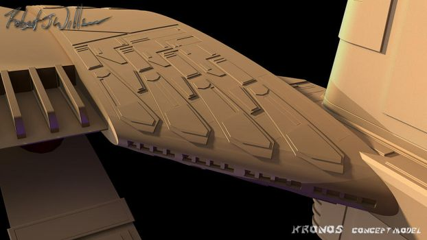 My Version Of Kronos 1 Study Model part 71 by XFozzboute