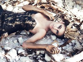 Washed Ashore by Queen-Kitty