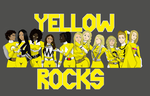 Yellow Rangers Rock (Remake) by geverglade-280