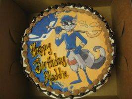 Sly Cooper Cake by SlyCooperRocks101