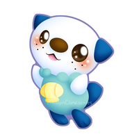 Oshawott v2 by Clinkorz