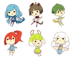 Tiny Cheebs dump 1 by aya-mei