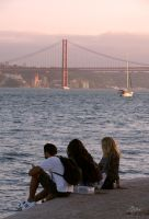 Lisbon - cooling off at the Tejo by Pippa-pppx