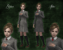 -Rule of Rose- Jennifer Retexture mod by Lilacatz