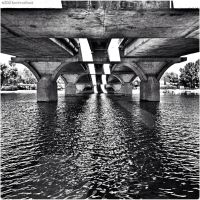 Water and Concrete BW by technohoot
