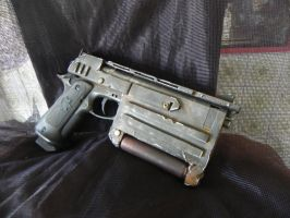 Fallout 3 N99 10mm pistol by Clayman8
