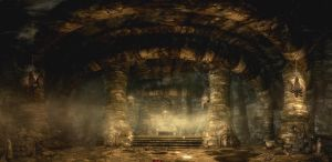 Skyrim Cave by Mallony