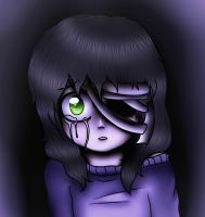 Creepypasta oc - Ester (request) by IchiroChan