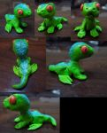 Lil Green Lizard (BABY REPTAR) by MetallicUmbrage