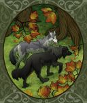 Autumn Stroll by FablePaint