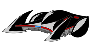 "Batmobile from ""Batman Beyond"" by Devro1962"