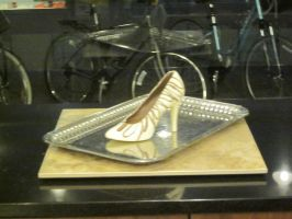 Chocolate Shoe by Andrea-Perry