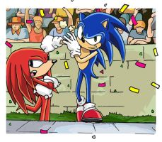 Sonic and Knuckles DBS III by BLaKcatINK