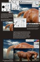 Photoshop Mane Tail Tutorial by Subaru09