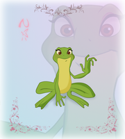 Princess Of Heart-Frog Tiana by Nippy13