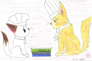 Miss chef teacher by TOM-CATS