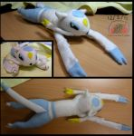 Secret Project: Mienshao Plushie by Snowfyre
