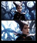 Maleficent Repainted by SBGothik