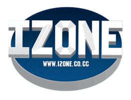 IZONE.CO.CC LOGO by WalidGFX
