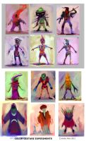 Abstract character color concepts4 by PoetryMan1