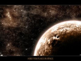 a better place in space by Reduasch