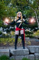 Ms. Marvel Photon Blast by CapesandCowlsAnon