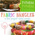 TUTORIAL - Fabric Bangles by popnicute