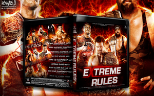 Wwe Extreme Rules 2012 cover by Mohamed-Fahmy