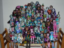 Complete Monster High by JadeJeebie