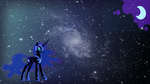 Nightmare Moon Wallpaper by RowlingFan12