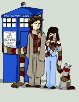 The Doctor's Scarf by Schokopocky