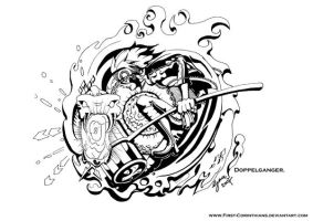 D.Gray Man: Doppelganger by First-Corinthians